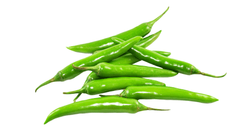Health benefits of eating green chilies in winter