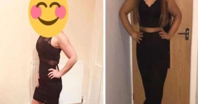 BF had left her girlfriend at home, saw her dress after a few days, and found something similar