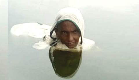 This woman has been living in water for 20 years