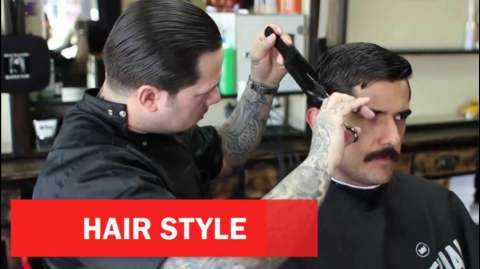 Here the haircut you want can be hanged, what is the reason