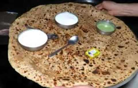 A paratha can give you 1 lakh rupees and free food for life