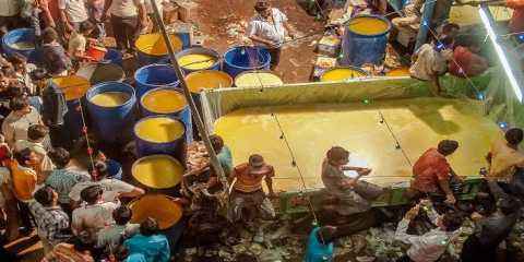 A village in India where the river of ghee flows, see full report