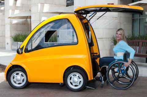 This car can run with every disabled wheel chair in the world, know about it