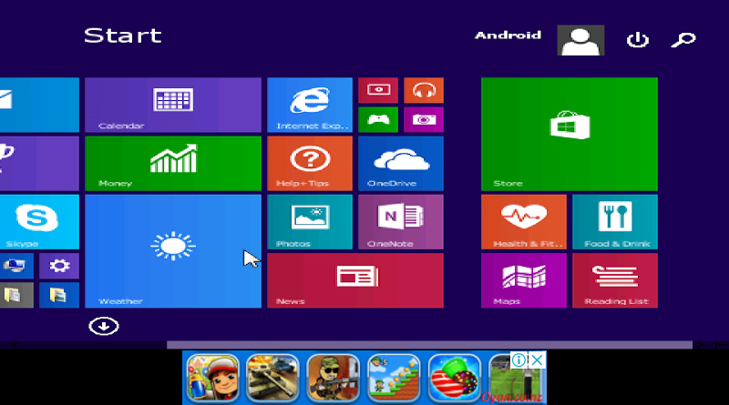 How to install Windows xp / 7/8/10 in your Android mobile by clicking