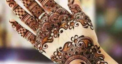 Apply such mehndi designs on hands for an attractive look