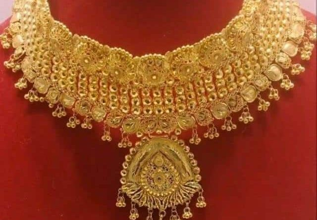 These gold designs will give perfect look to bride girls, see photos, see photos