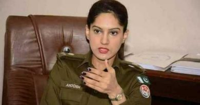The world of this female police of Pakistan was convinced