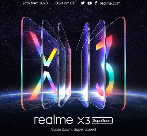 RealX-3 Super Zoom to be launched in Europe on May 26