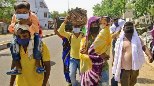 लॉकडाउन में बड़े हादसे: MP में 8 मजदूरों की मौत, UP में बस ने मजदूरों को कुचला, 6 की मौत
