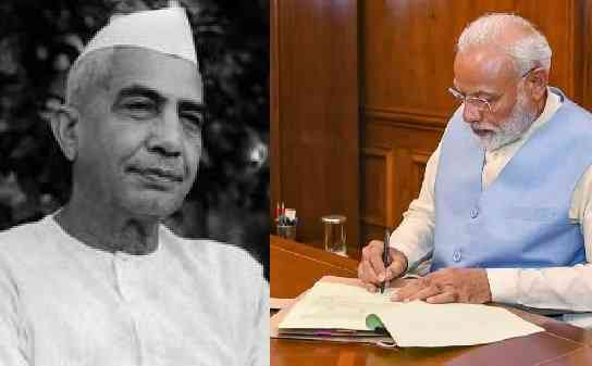 Big news - historic decision for farmers going to take Modi after Charan Singh.