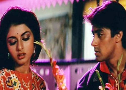 Salman Khan know romance with actress Bhagyashree in the 80s, now will fight with her daughter