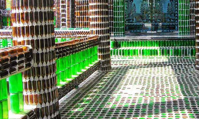 This temple has been made known by beer bottles, the reason behind it
