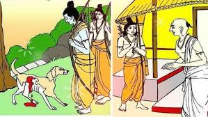 Do you know that Lord Ram had agreed to a dog, such a big decision