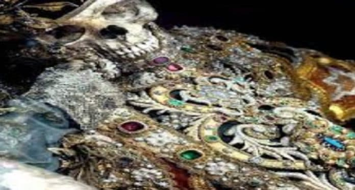 Know a place where skeletons found in jewels