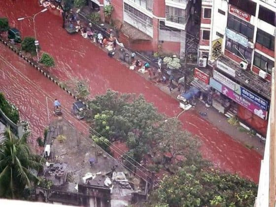 7 years ago, this place of blood rain occurred in India, till date remains a mystery