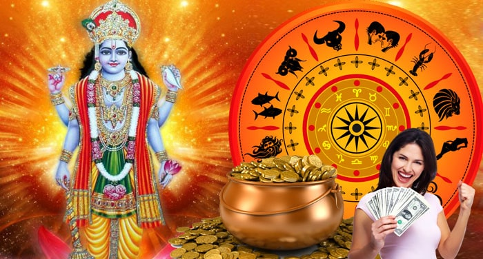 Lord Vishnu will make these 5 signs lucky, all worries will go away
