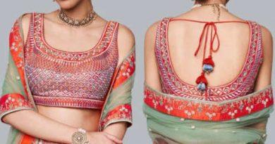 इस तरह के ब्लाउज पहनने से महिलाए बेहद ही दिखती है सुन्दर और आकर्षक