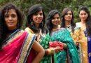भारत में साड़ी पहने की प्रथा कब शुरू हुई ?