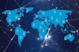 भारत में इंटरनेट कहां से और कैसे आता है?