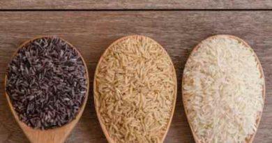 भूरा, लाल, काला और सफेद चावल: अंतर और लाभ जानिए