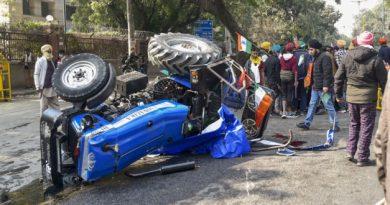 दिल्ली के आईटीओ में किसानों की ट्रैक्टर परेड के दौरान 27 वर्षीय संरक्षक, नवप्रीत सिंह हुंदल हुई मृत्यु