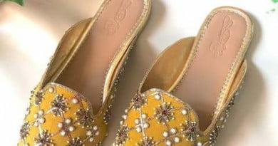 शादी में लहंगे के साथ मैच करें ऐसी जूतियां